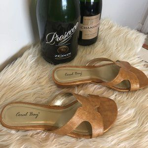 Coral Bay Gold Sandals